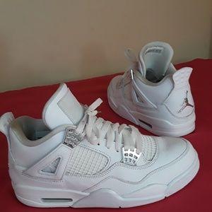 Nike Air Jordan 4 Retro Pure Money Met Svl Sz 8.5